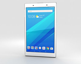 Lenovo Tab 4 8 White 3D model