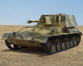 SU-76 3D model