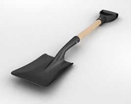 Square Shovel 3D model