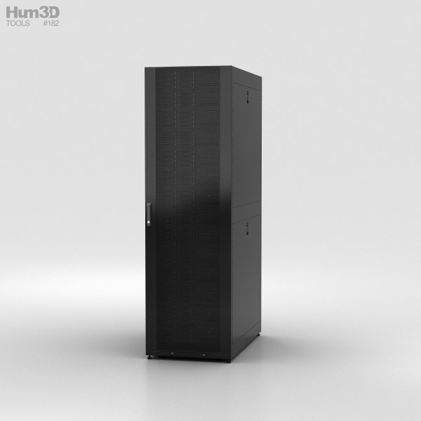 Discount Car Parts >> Server Rack 3D model - Electronics on Hum3D