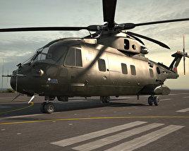 AgustaWestland AW101 Merlin 3D model