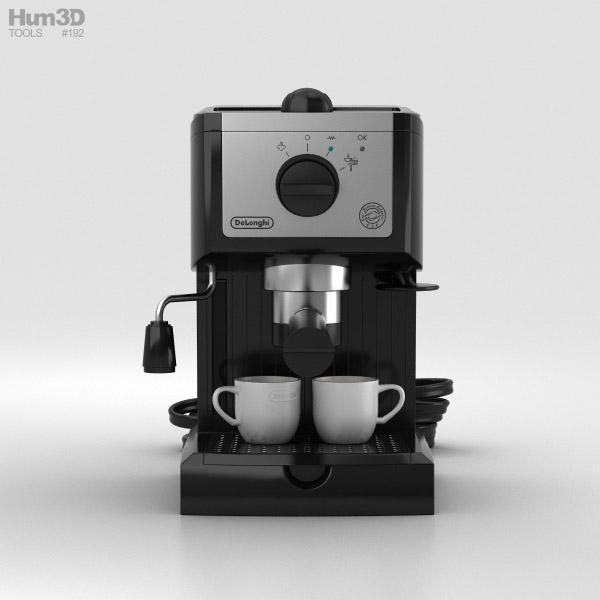Delonghi Espresso Machine 3d Model Hum3d