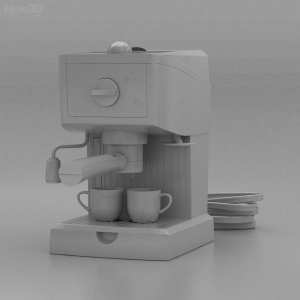 Delonghi espresso machine 3d model hum3d delonghi espresso machine 3d model malvernweather Choice Image