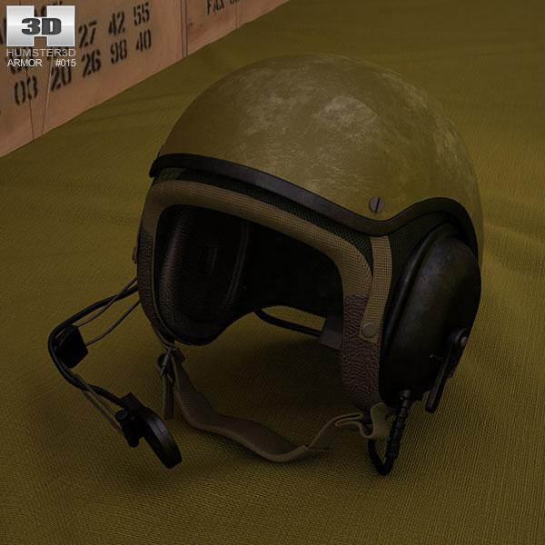 US Tank Helmet 3D model
