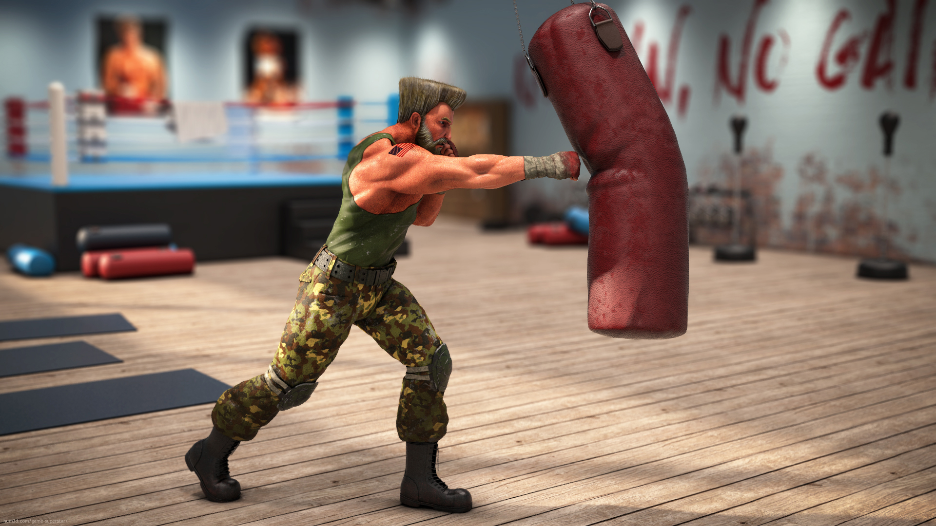 Legend of the Fighters 3d art