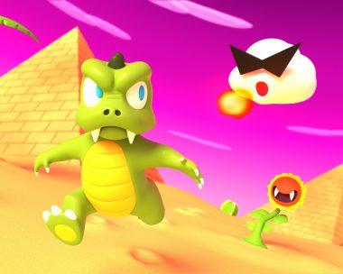 Lizard Man's Desert Romp