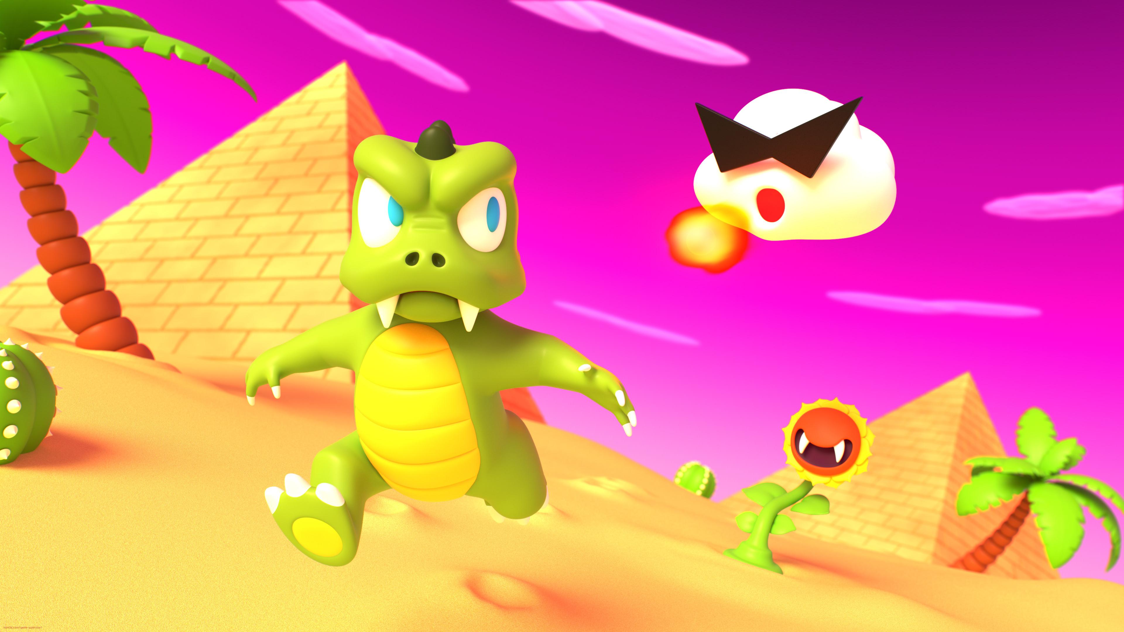 Lizard Mans Desert Romp