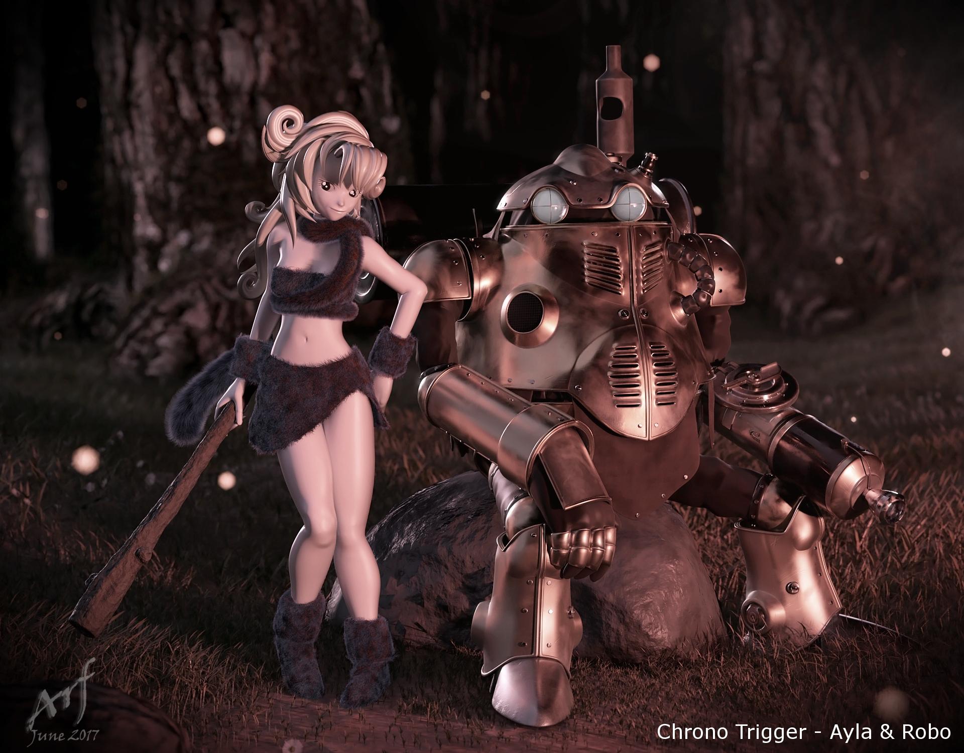 Ayla and Robo