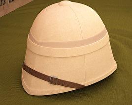 Pith Helmet 3D model