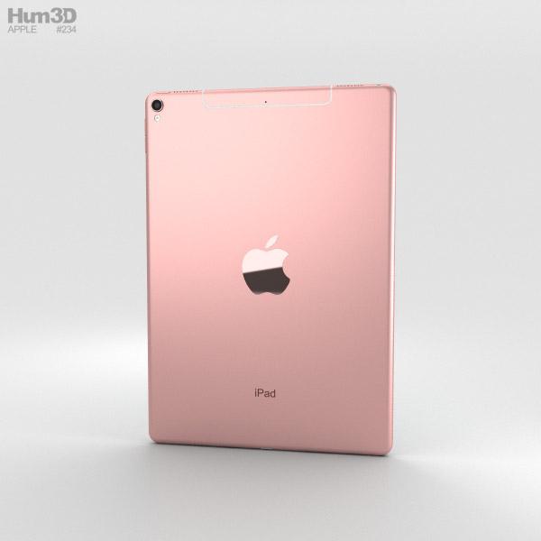 apple ipad pro 10 5 inch 2017 cellular rose gold 3d model hum3d. Black Bedroom Furniture Sets. Home Design Ideas