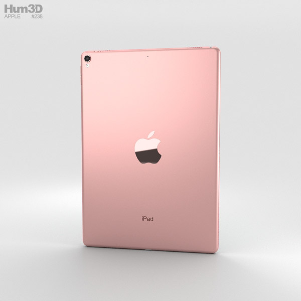 apple ipad pro 10 5 inch 2017 rose gold 3d model hum3d. Black Bedroom Furniture Sets. Home Design Ideas