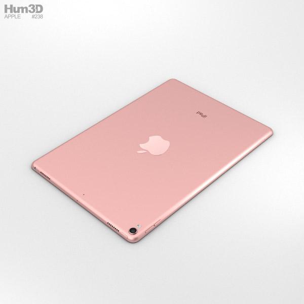 apple ipad pro 10 5 inch 2017 rose gold 3d model hum3d. Black Bedroom Furniture Sets. Home Design Ideas