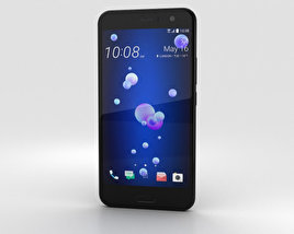 HTC U11 Brilliant Black 3D model