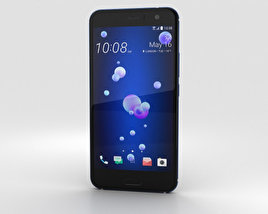 HTC U11 Sapphire Blue 3D model