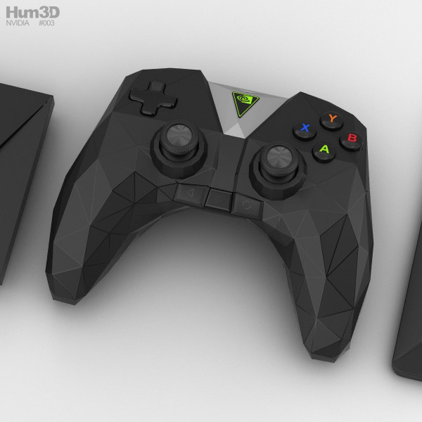 Nvidia Shield TV 3D model