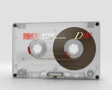 3D model of Transparent Cassette