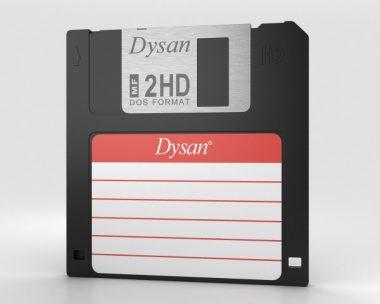 3D model of Floppy Disk 3.5 inch