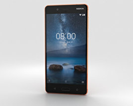 Nokia 8 Polished Copper 3D model