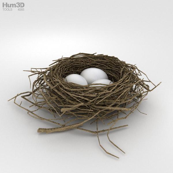2017 Trucks >> Bird Nest 3D model - Hum3D
