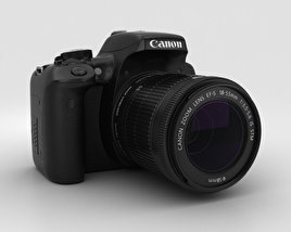 Canon EOS Rebel T6i 3D model