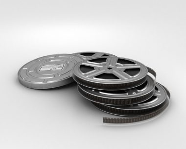 3D model of Video Film Reel
