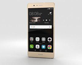 Huawei P9 Lite Gold 3D model