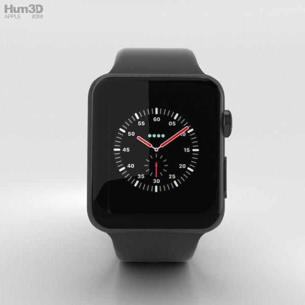 Apple Watch Edition Series 3 38mm GPS Gray Ceramic Case ...