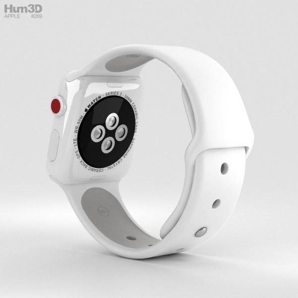 Apple Watch Edition Series 3 38mm GPS White Ceramic Case ...