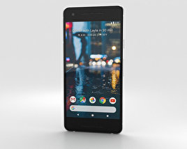 Google Pixel 2 Clearly White 3D model