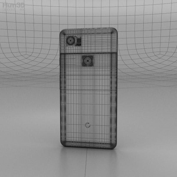 Google Pixel 2 Xl Just Black 3d Model Hum3d