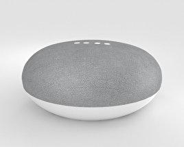 Google Home Mini Chalk 3D model