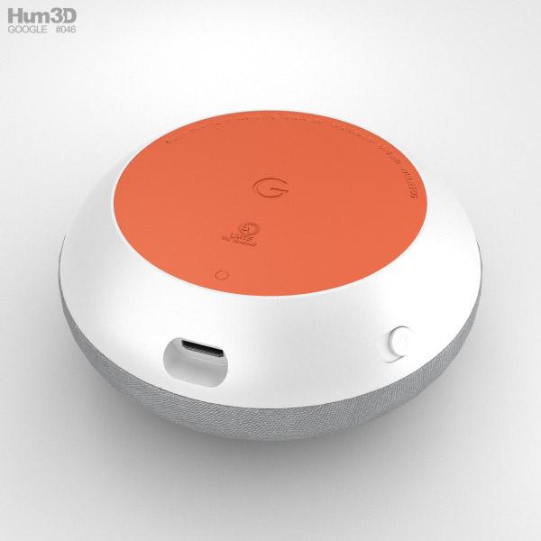 Google Home Mini Chalk 3d Model Hum3d