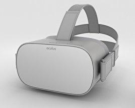 Oculus Go 3D model