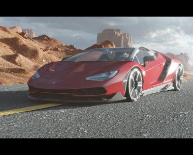 Desert's Lamborghini