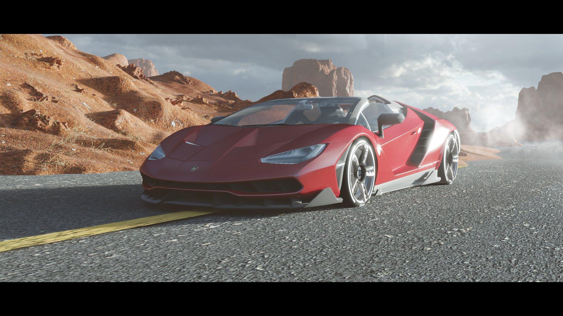 Deserts Lamborghini