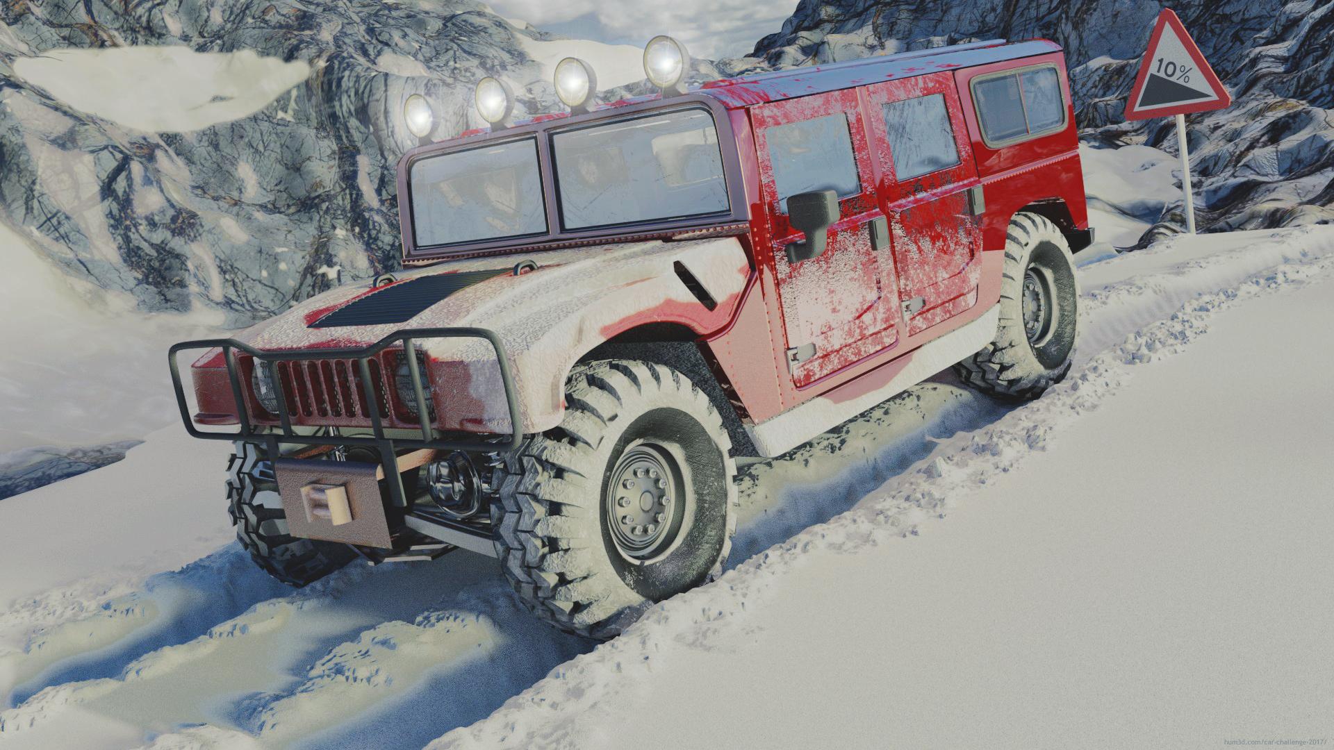 Snow and risky fun