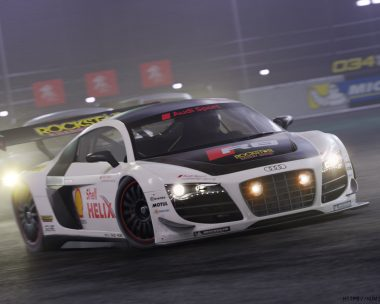 Audi R8 LMS night Race
