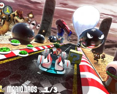 Super Mario Kart concept