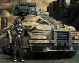 The Rhino. Autonomous Multirole Survival Military Vehicle