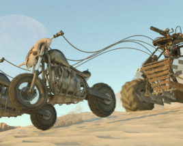 Gladiator Chariot