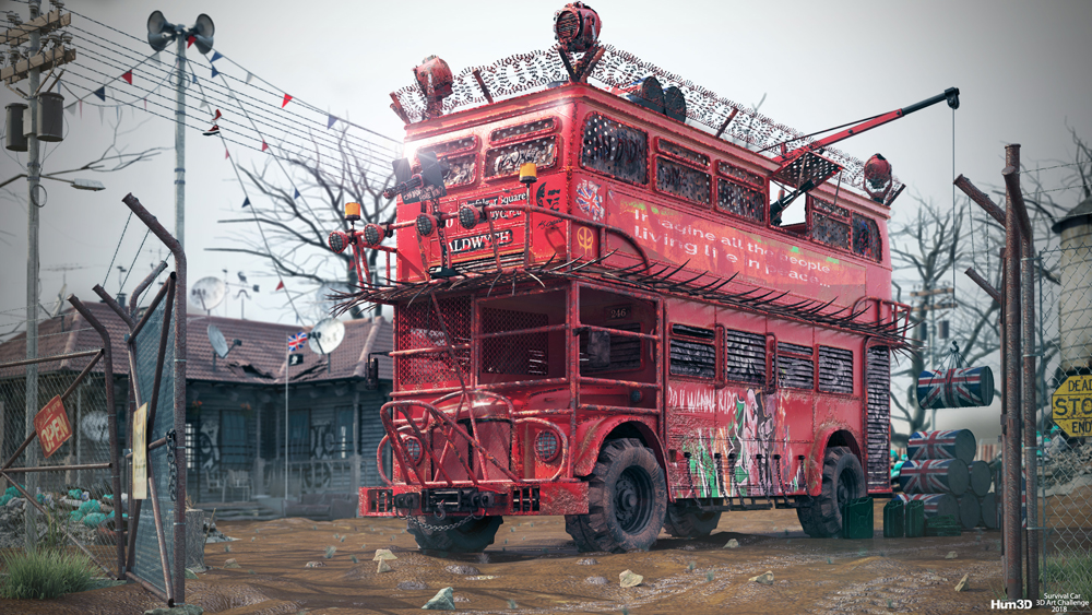 Double Decker by Serhan Dereli