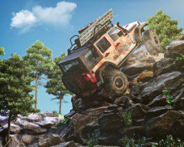 Rock Climbing Jeep