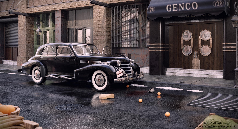 The Godfather 3d art