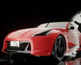 Before the storm – Nissan 370z