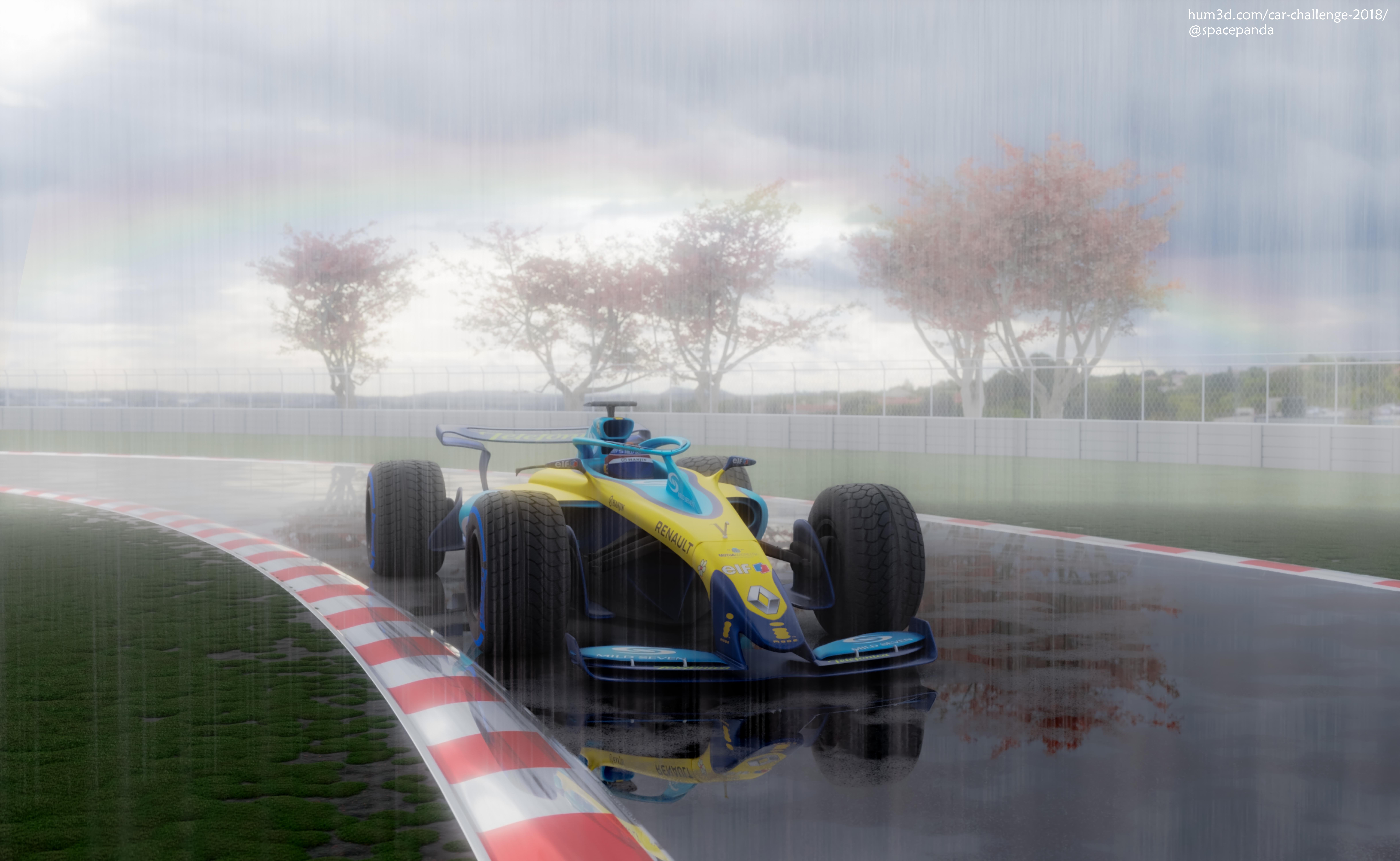 Champion Car 3d art