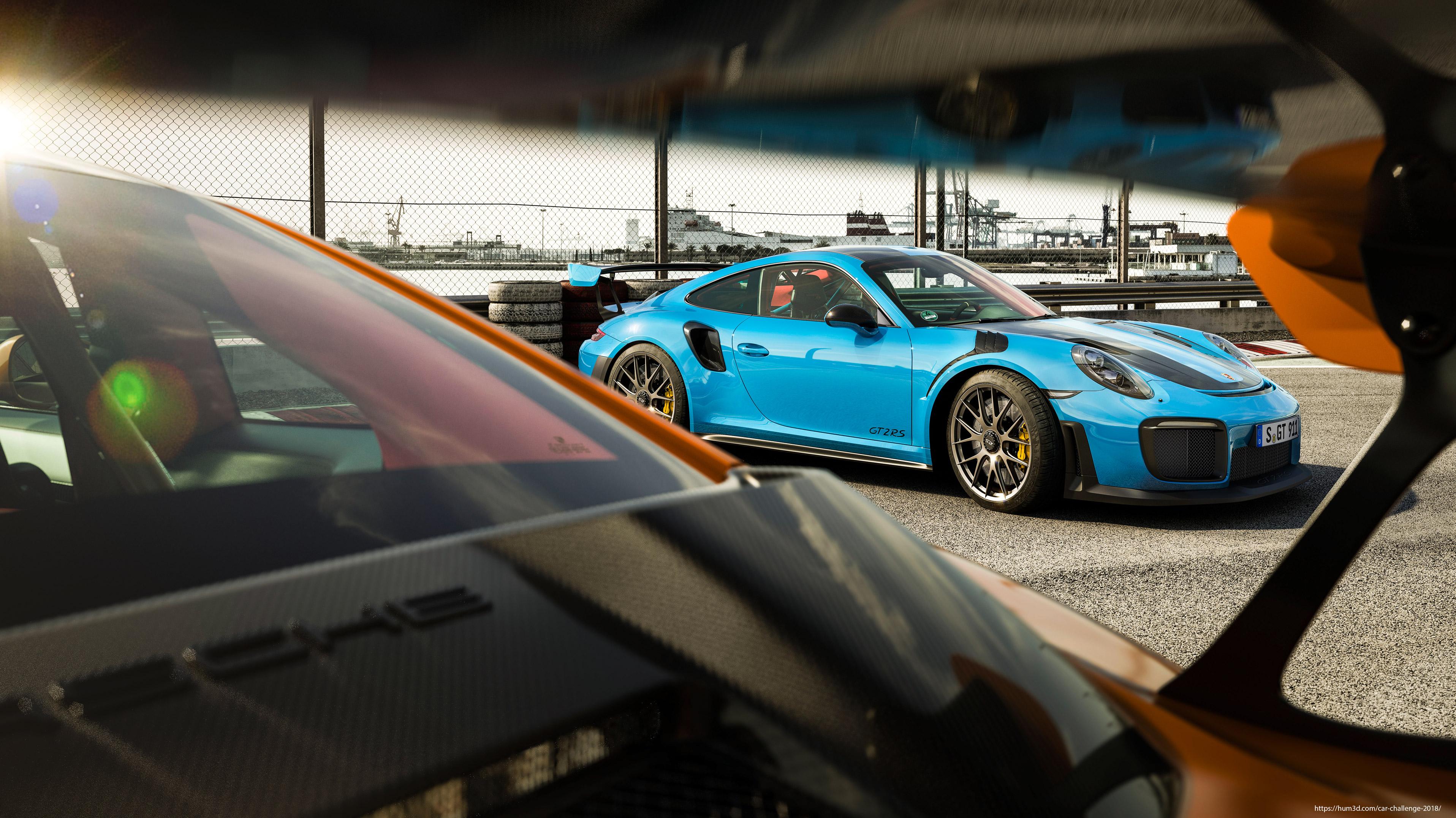 Porsche Days 3d art