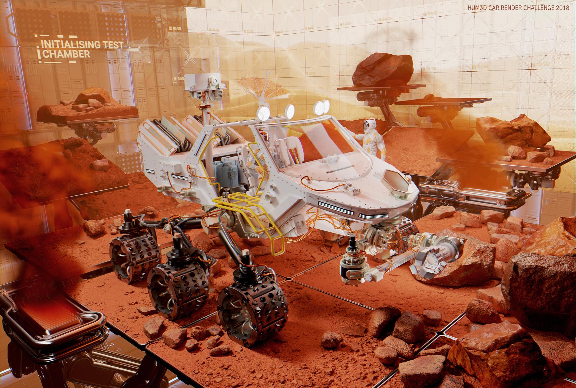 Rover Test Nr.24 3d art