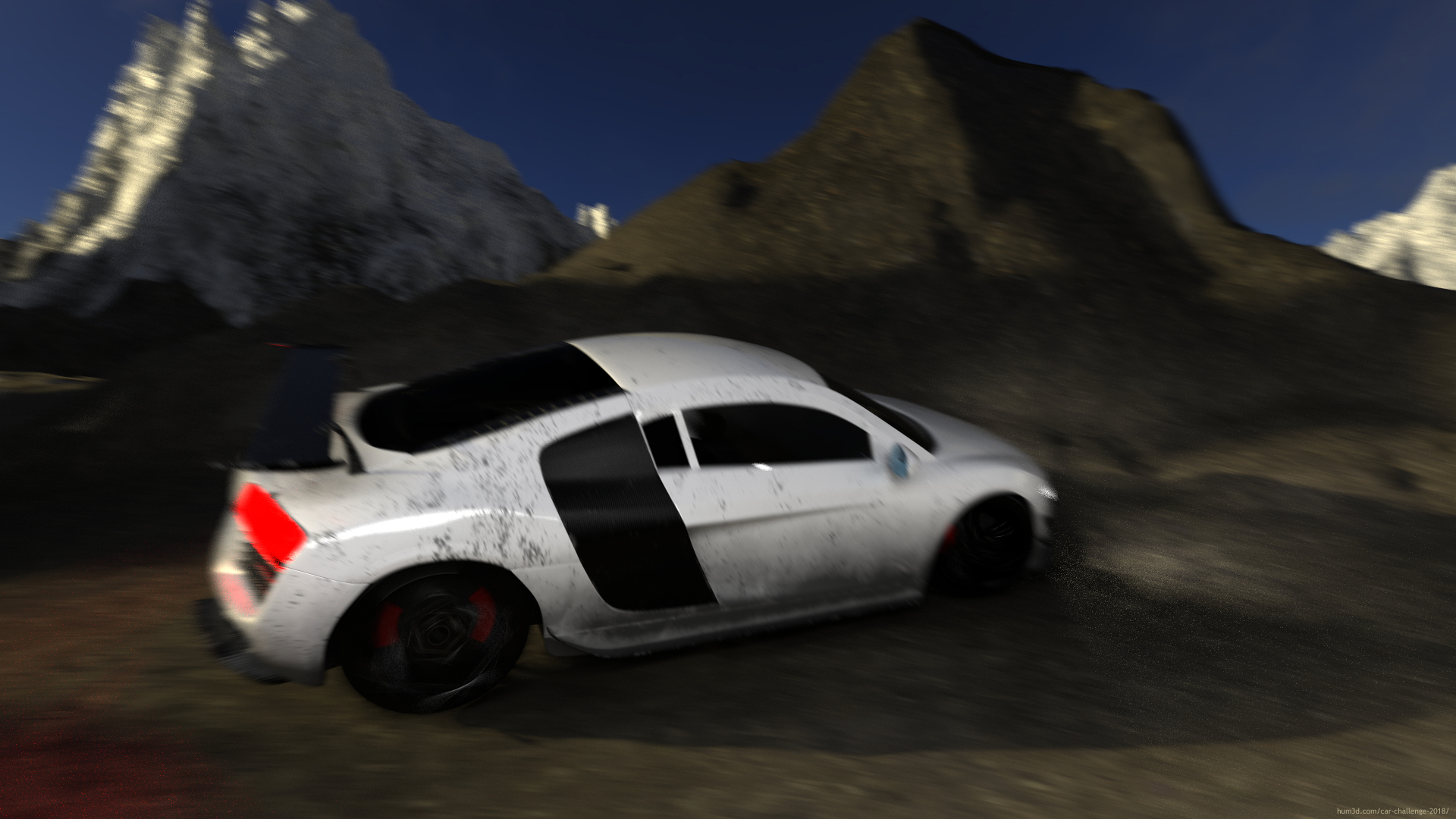 Track-Spec R8 Rally 3d art