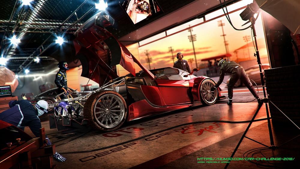Amber Roadster by Mario Piercarlo Marino