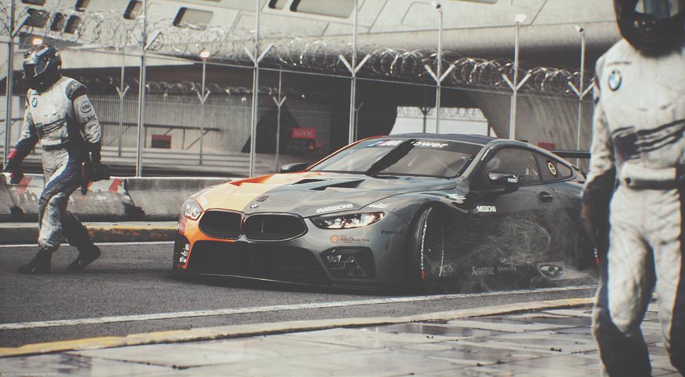 BMW M8 GTE by Paul Haase